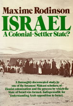 Israel Colonial Settler State