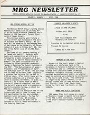 Medical Reform Newsletter April 1985