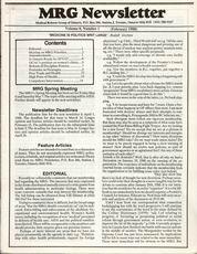 Medical Reform Newsletter February 1988