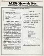 Medical Reform Newsletter April 1988