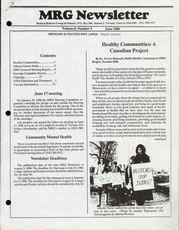 Medical Reform Newsletter June 1988