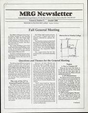 Medical Reform Newsletter October 1988
