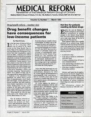 Medical Reform Newsletter March 1993