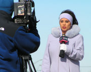 A television reporter