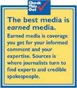 Media coverage for your story