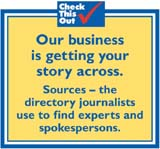 at Sources our business is getting your story across