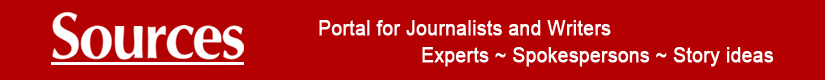 Sources Portal for Journalists Writers Researchers Experts Spokespersons Story Ideas